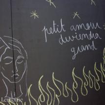 Graffiti Jardin des Tuileries, Mai 2016